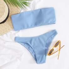 Bañador bikini bandeau de canale
