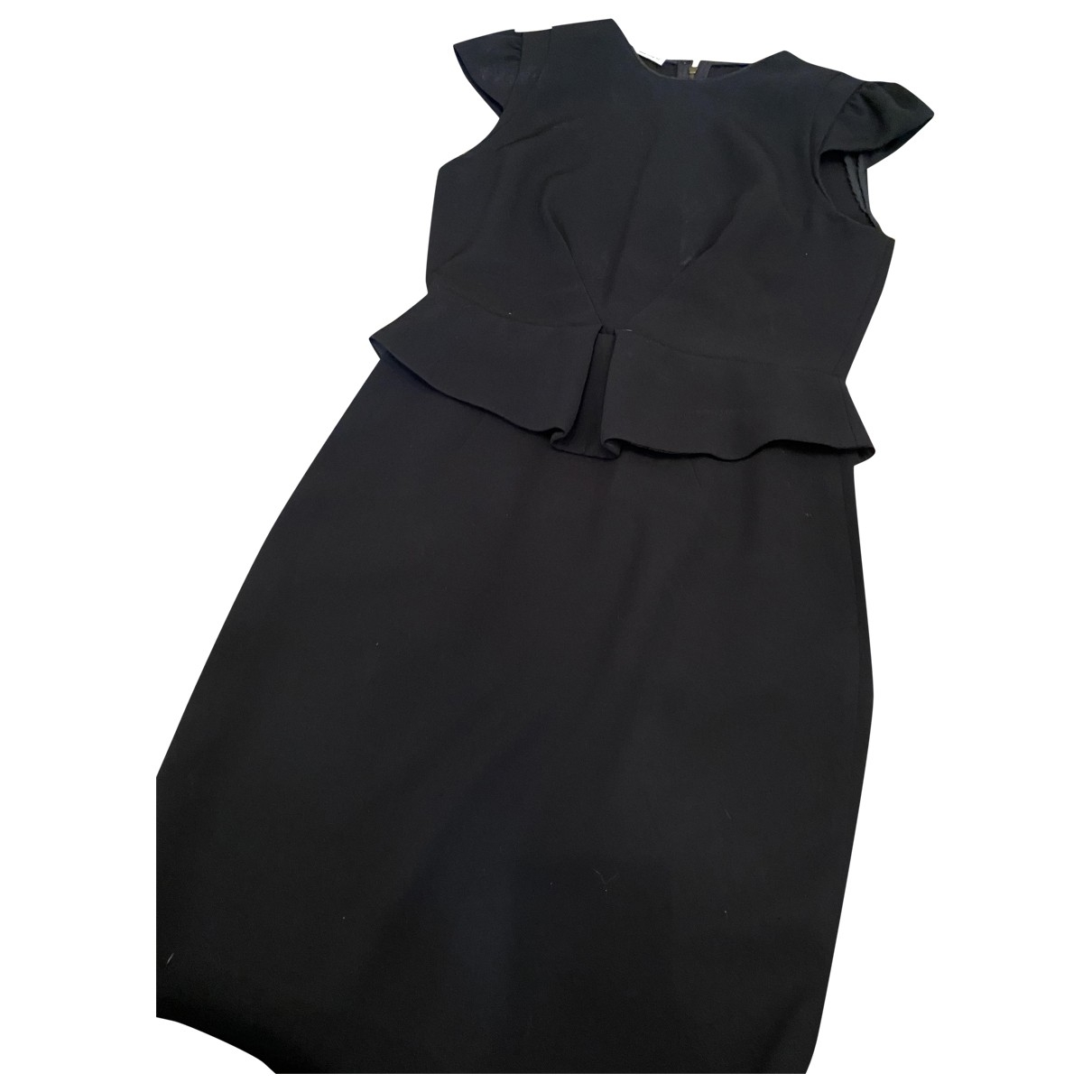 Miu Miu \N Black Cotton dress for Women 42 IT