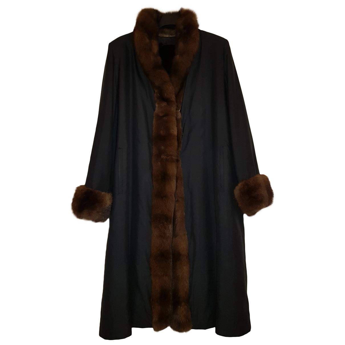 Zilli \N Black Mink coat for Women 46 FR