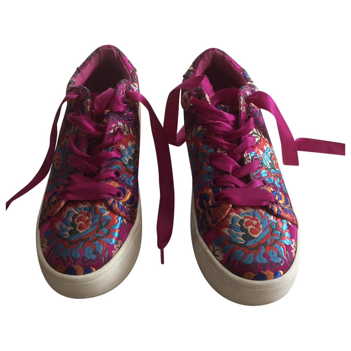 Steve Madden \N Sneakers in  Lila Mit Pailletten