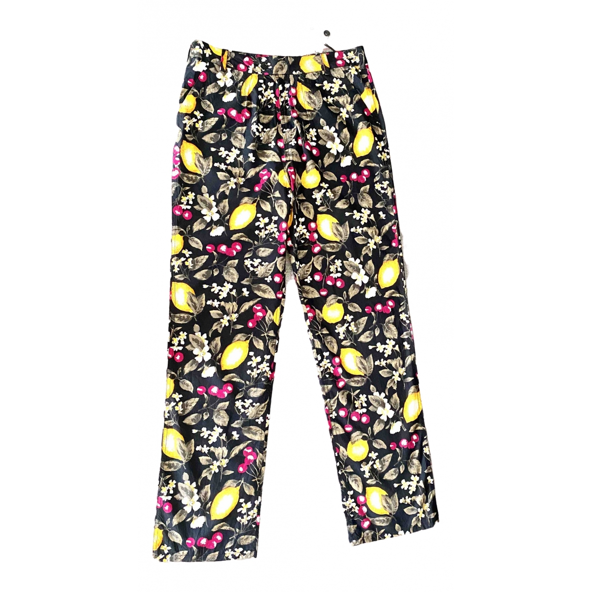 Ba&sh Spring Summer 2020 Multicolour Cotton Trousers for Women 38 FR