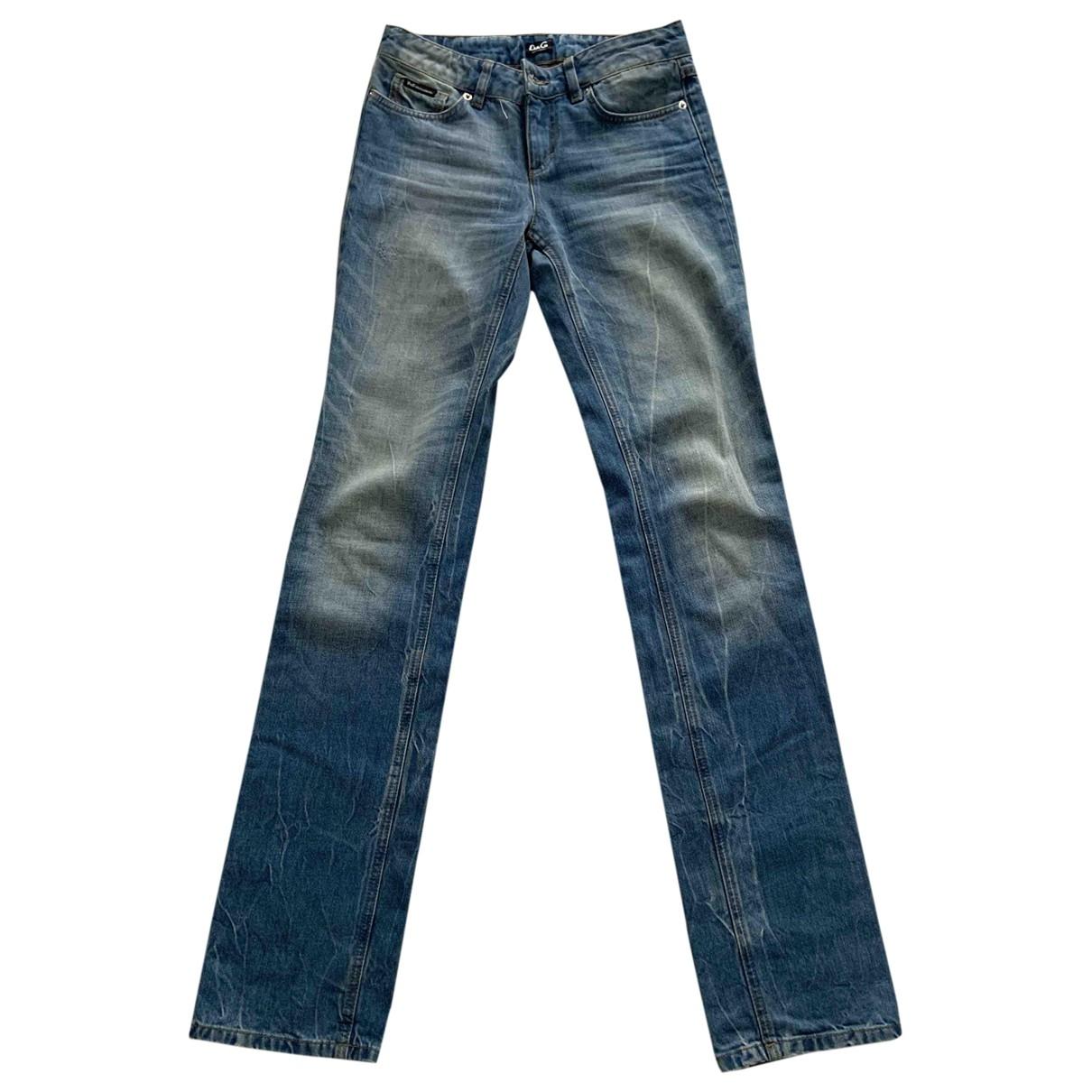 D&g \N Jeans in  Blau Baumwolle