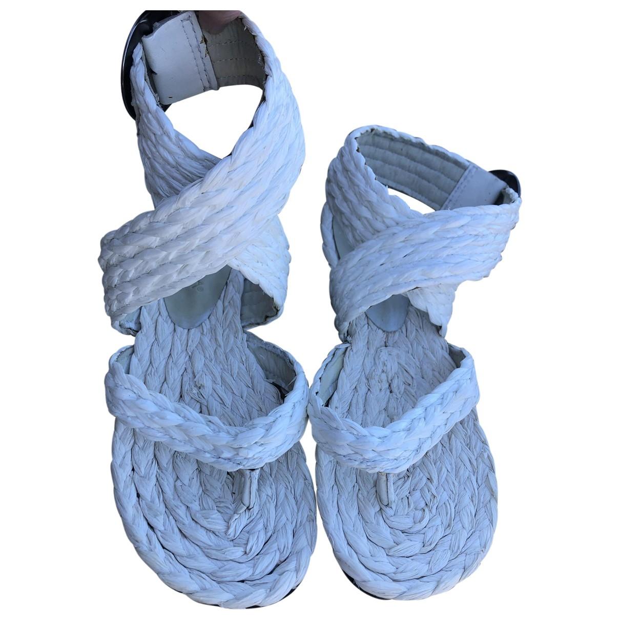 - Sandales   pour femme - blanc