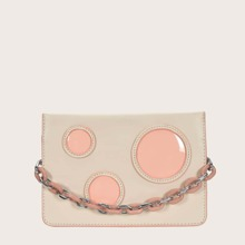 Bolsa cartera de niñas de color combinado