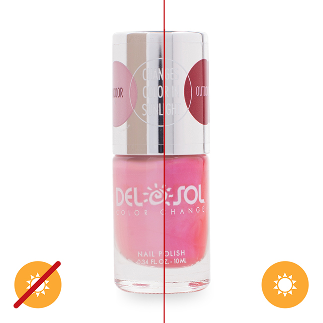 Color-changing Nail Polish - Everything Blooming Thing