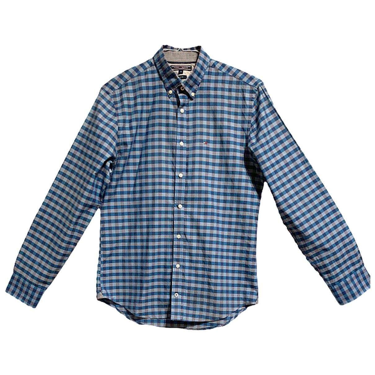 Tommy Hilfiger N Multicolour Cotton Shirts for Men M International