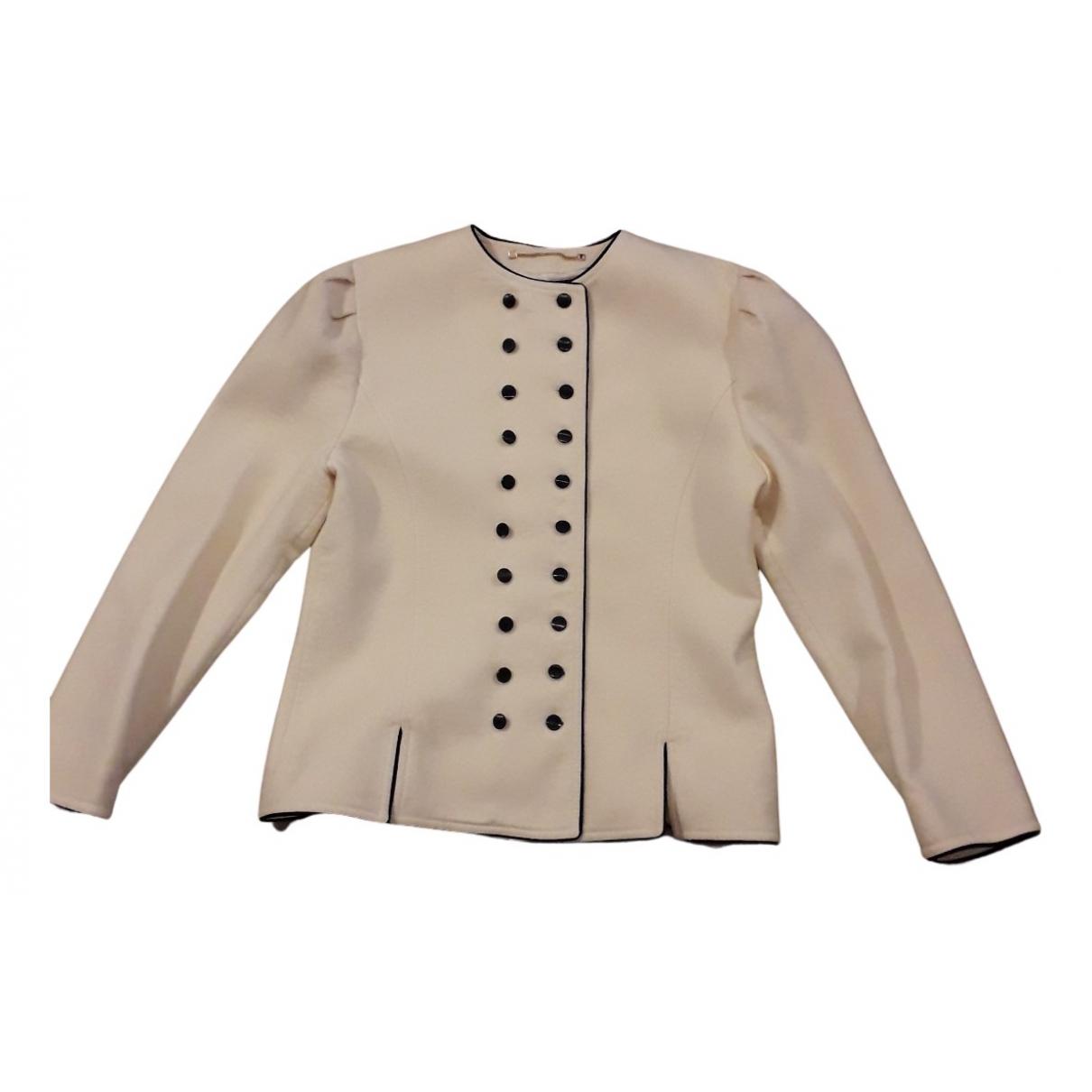 Louis Feraud - Veste   pour femme en laine - beige