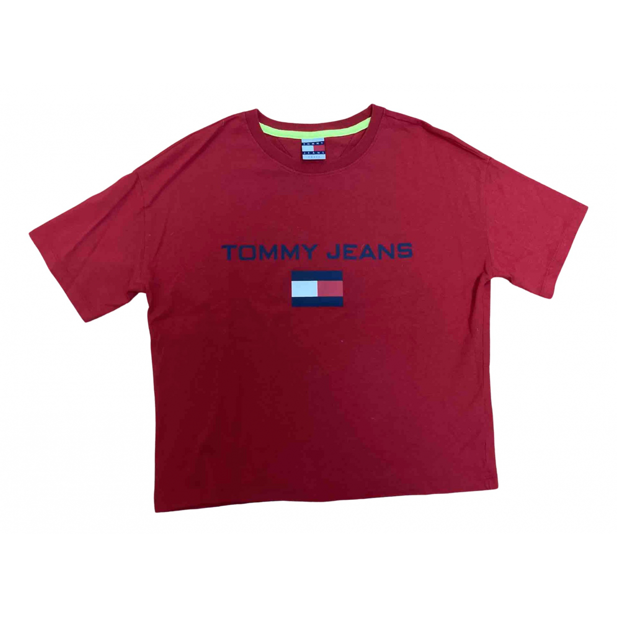 Tommy Hilfiger N Red Cotton  top for Women S International