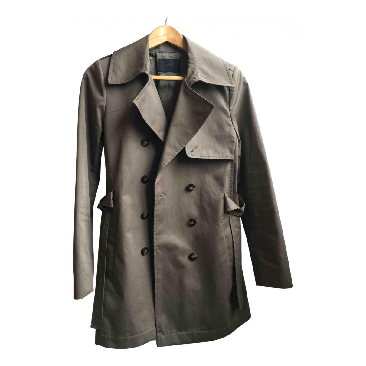 Ikks N Khaki Trench coat for Women M International