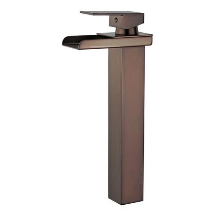 Oviedo Collection 10167N5-ORB-W Single Handle Bathroom Vanity Faucet with Pop-Up Drain with Overflow in Oil Rubbed