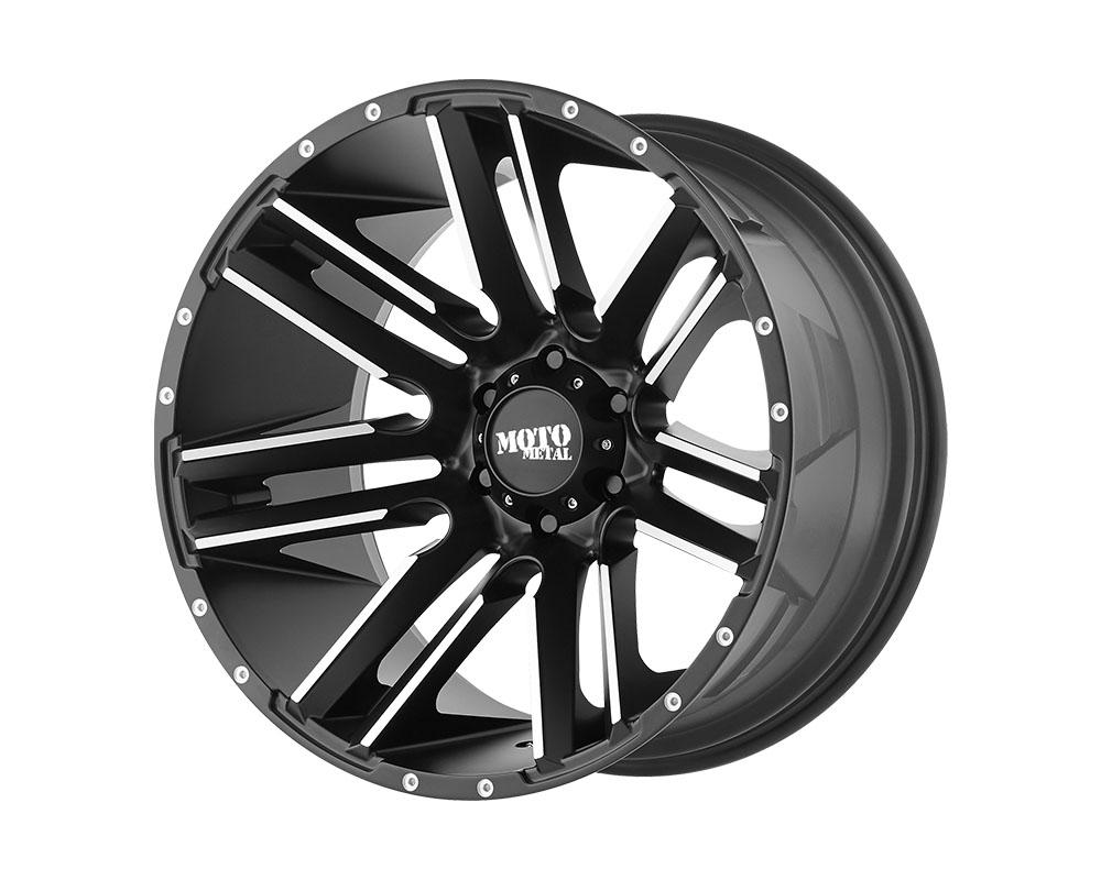 Moto Metal MO97889077518 MO978 Razor Wheel 18x9 6x6x120 +18mm Satin Black Machined