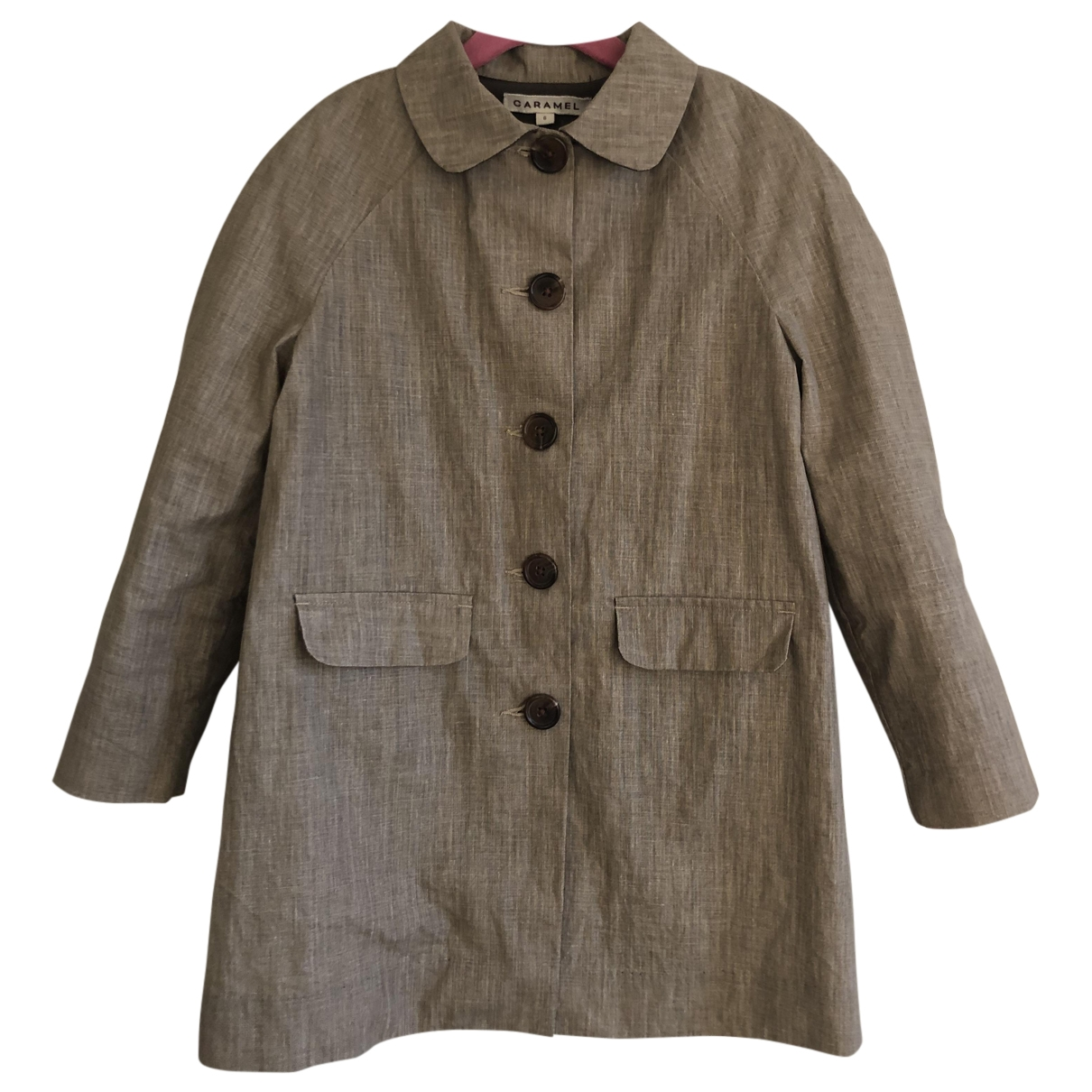 Caramel Baby & Child \N Beige Linen jacket & coat for Kids 6 years - until 45 inches UK