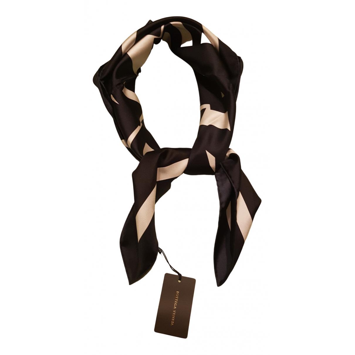 Bottega Veneta N Brown Silk scarf for Women N