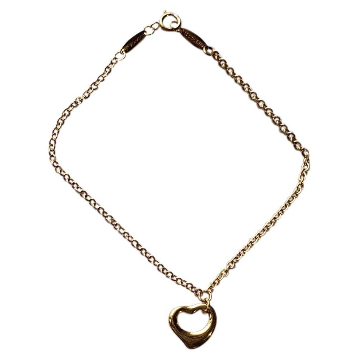 Tiffany & Co - Bracelet Elsa Peretti  pour femme en or jaune - dore
