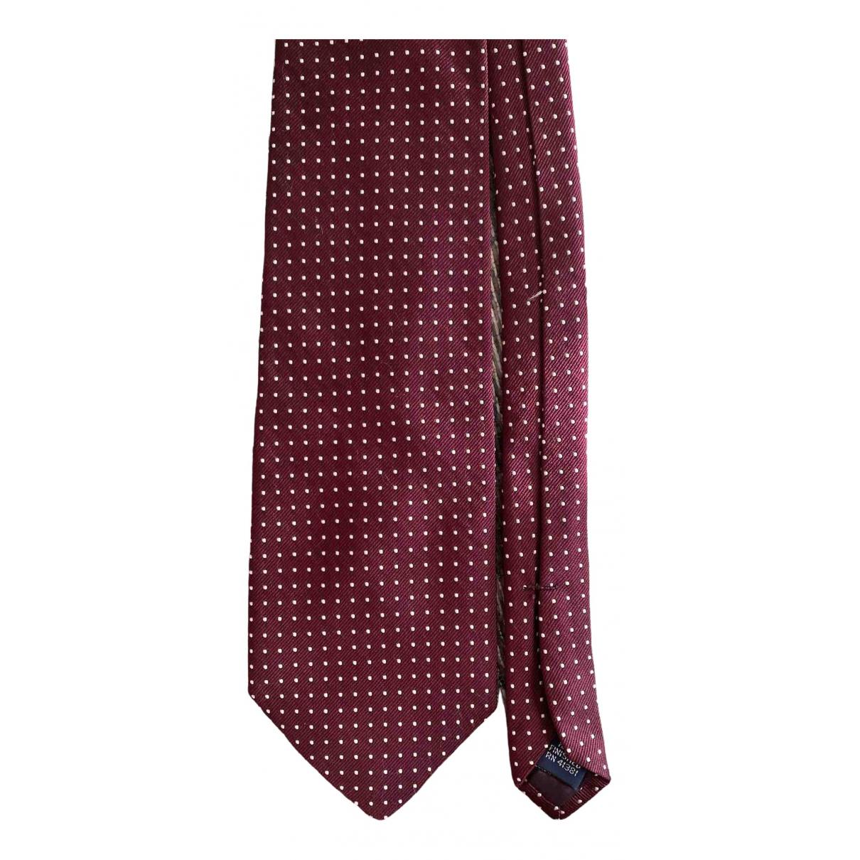 Polo Ralph Lauren N Burgundy Silk Ties for Men N