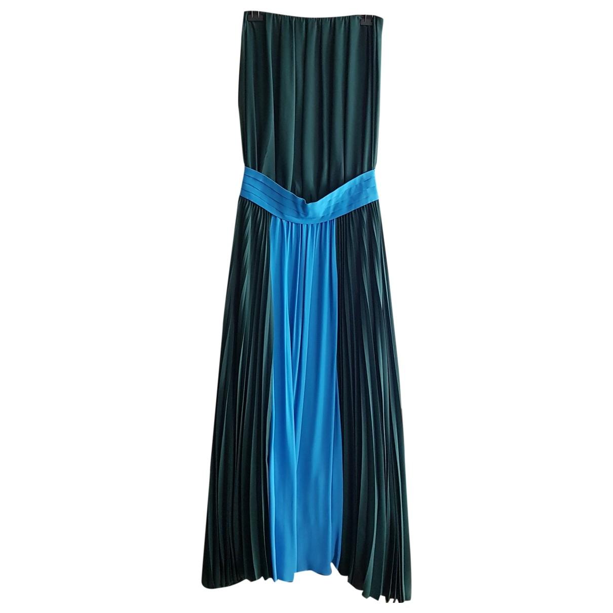 Pinko \N Kleid in  Gruen Viskose