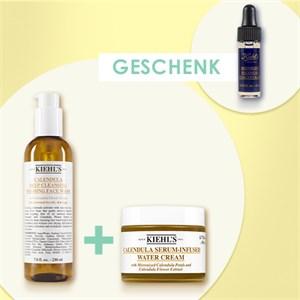 Kiehls Nettoyage Calendula Serum-Infused Water Cream 50 ml + Deep Cleansing Foaming Face Wash Calendula 230 ml 1 Stk.