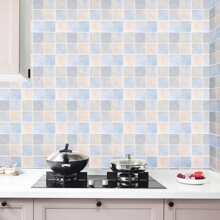 1 Stueck Wandaufkleber mit Mosaik Muster