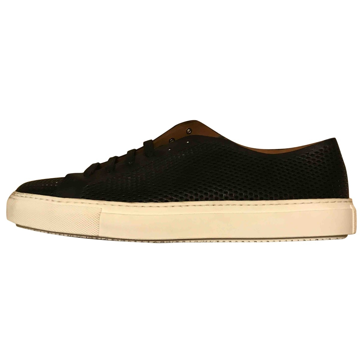 Fratelli Rossetti \N Black Leather Trainers for Men 43.5 EU