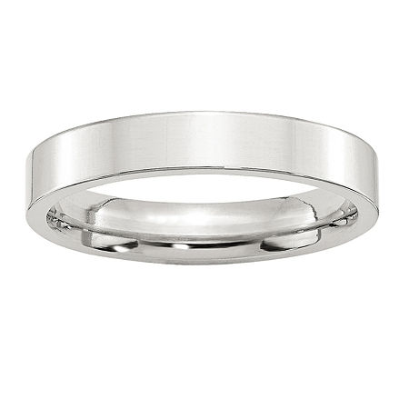 4MM Sterling Silver Wedding Band, 9 , No Color Family