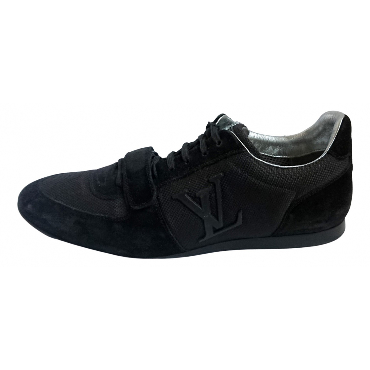 Louis Vuitton N Black Suede Trainers for Men 8.5 UK