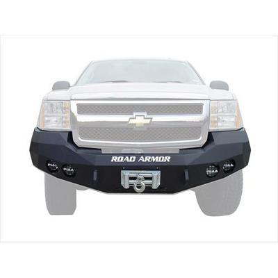 Road Armor Front Stealth Winch Bumper Round Light Port - 37200B