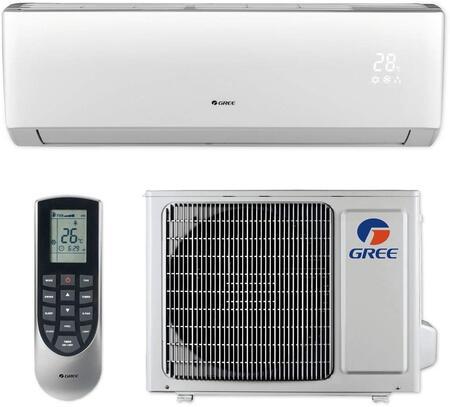 LIVS12HP115V1B Single Zone Mini Split System with 12000 Cooling and 13000 Heat Pump BTU  115
