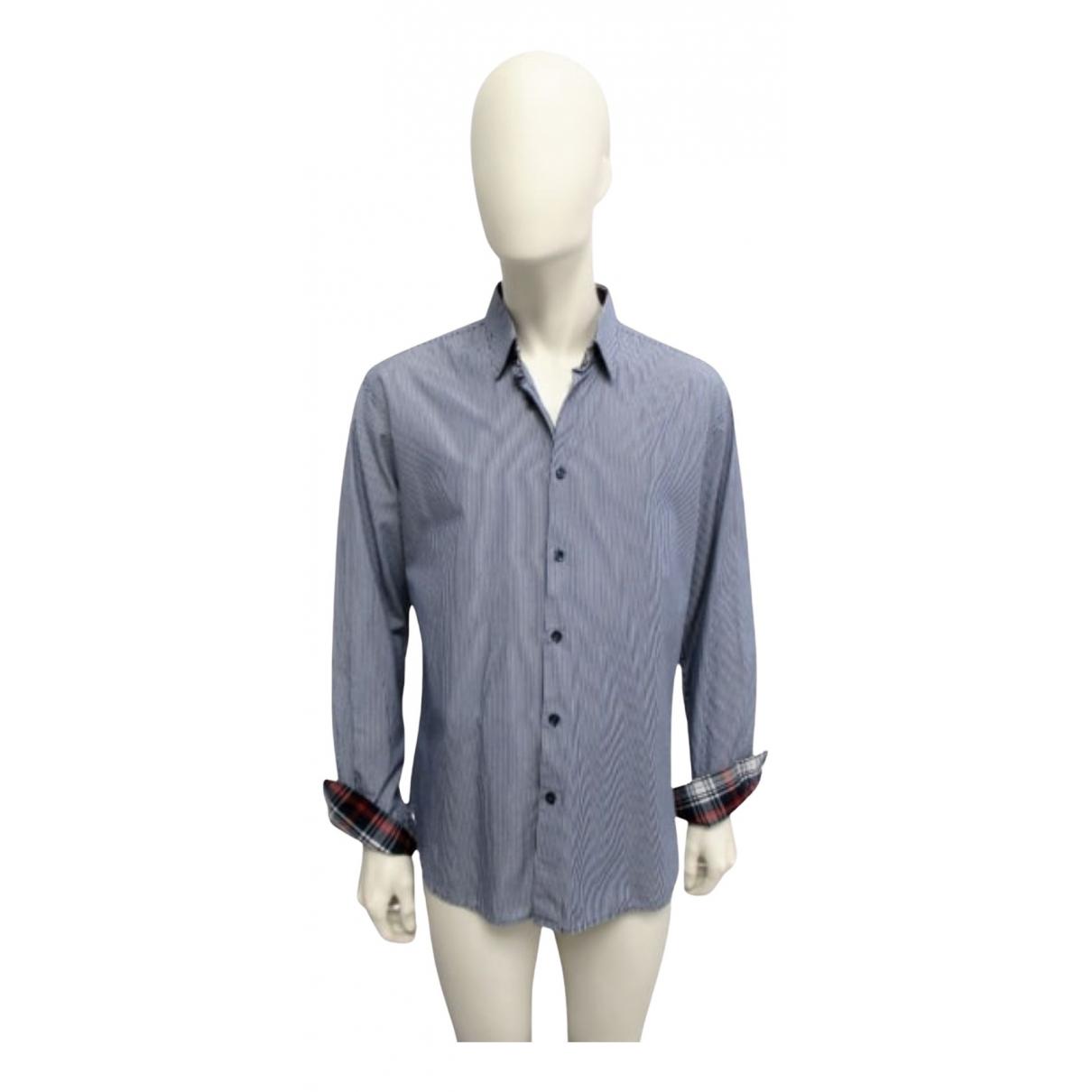 Selected N Blue Cotton Shirts for Men XL International