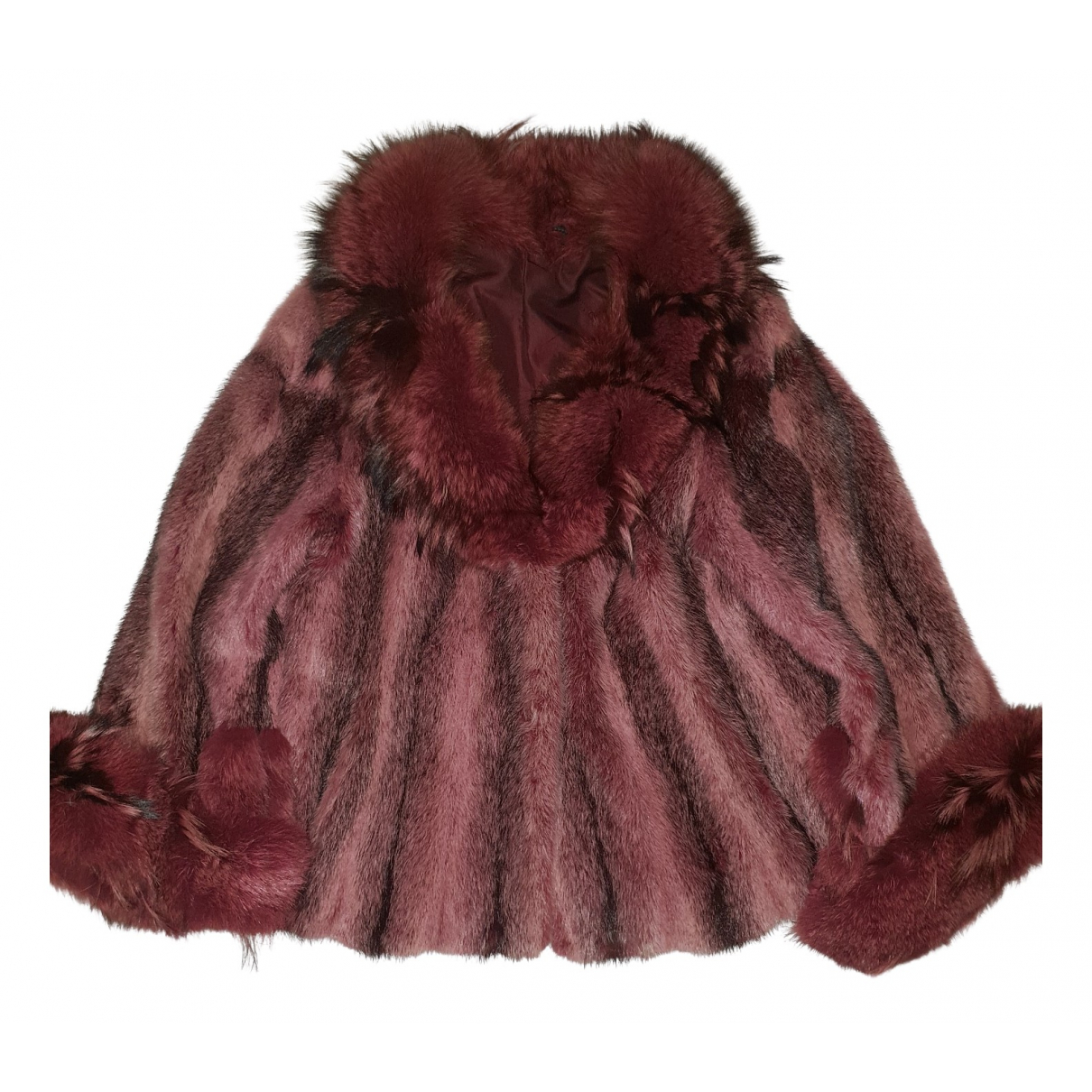 - Veste   pour femme en vison - rose