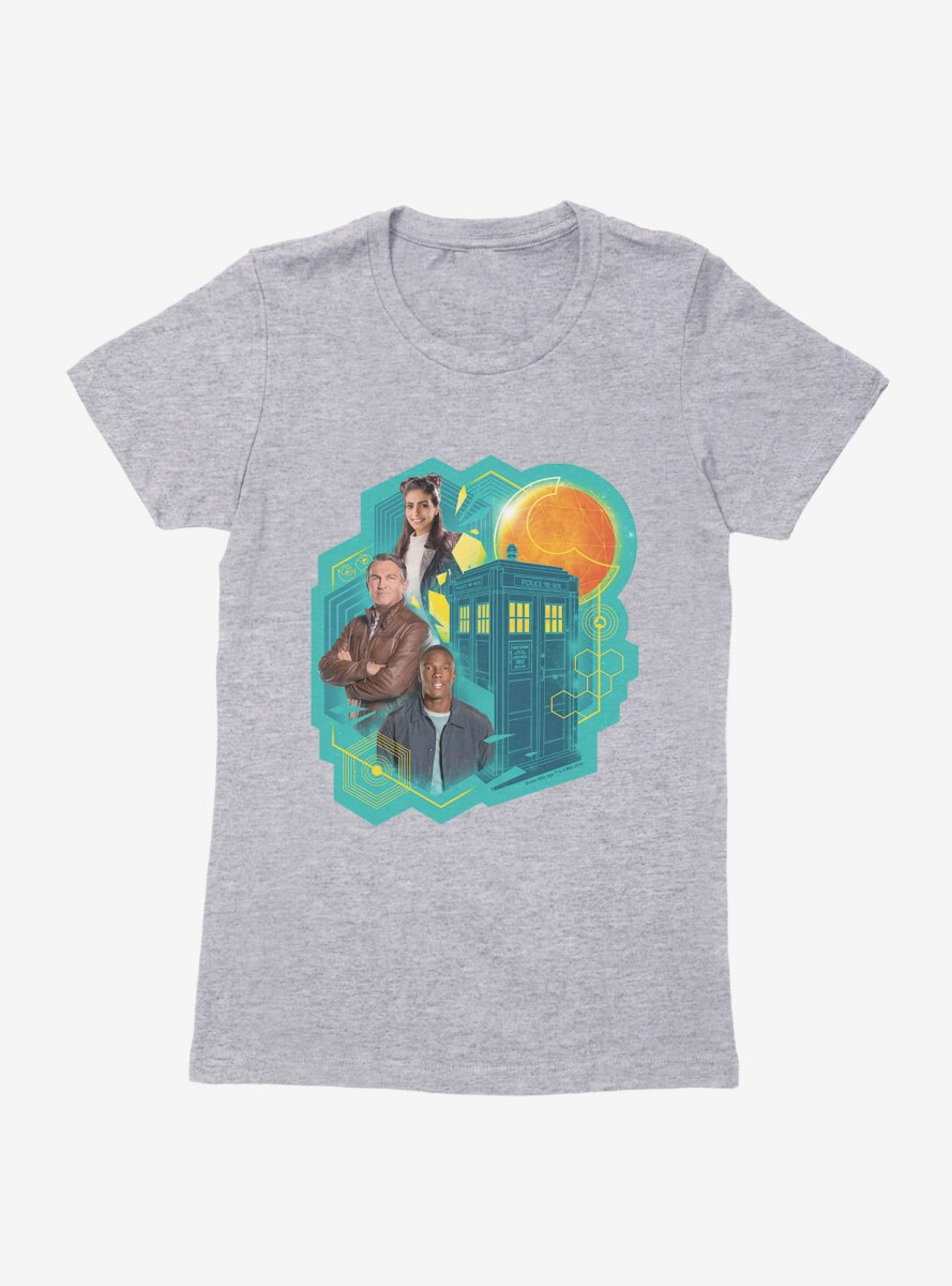 Doctor Who The Thirteenth Doctor Companions Womens T-Shirt