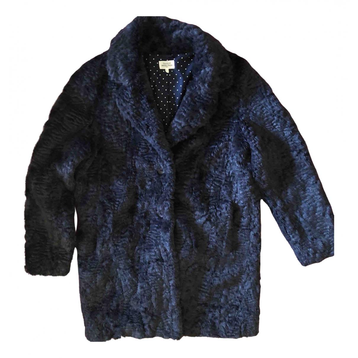 Hartford N Blue Faux fur jacket for Women 42 IT