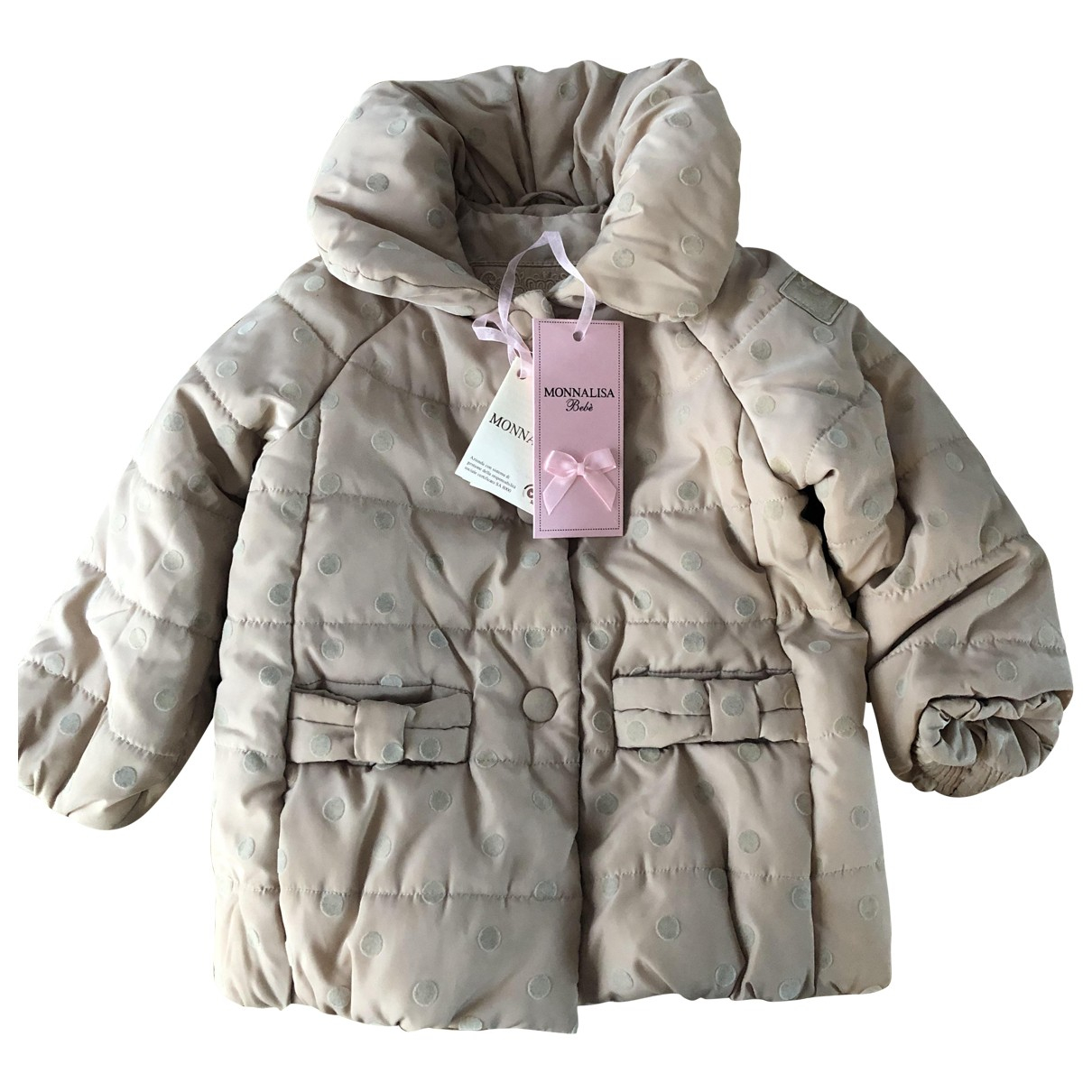 Monnalisa N Beige jacket & coat for Kids 12 months - up to 74cm FR