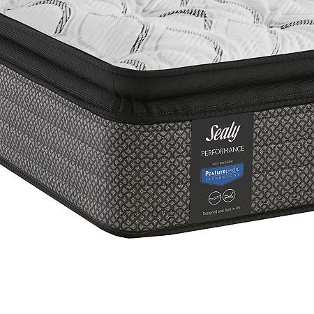 Sealy Posturepedic Evanston Cushion Firm Pillow Top Mattress Only, One Size , White