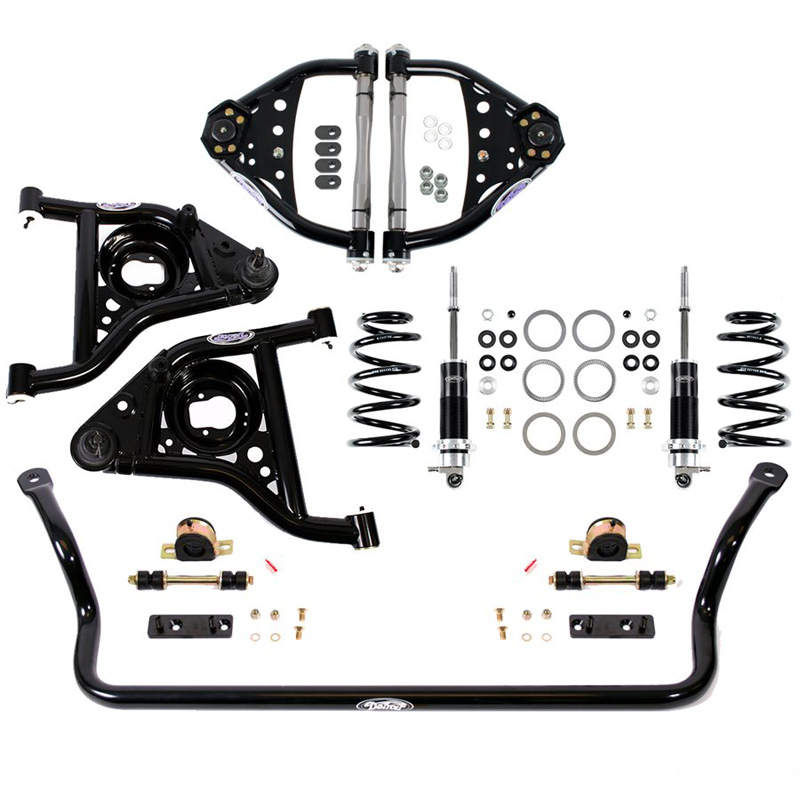 Detroit Speed 031355-R Speed Kit 2 Front Suspension Kit 1970-1981 Camaro/Firebird Double Adjustable w/Remote Canister BBC