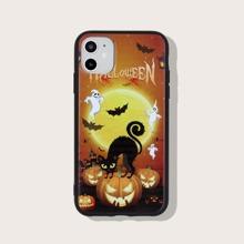 Halloween Cartoon Graphic iPhone Case