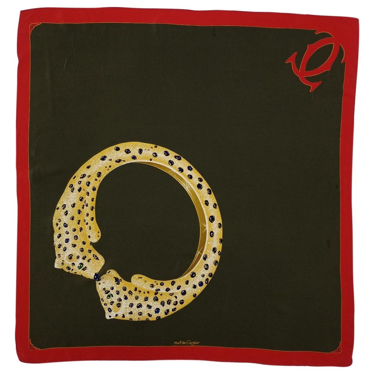 Cartier \N Multicolour Silk scarf for Women \N
