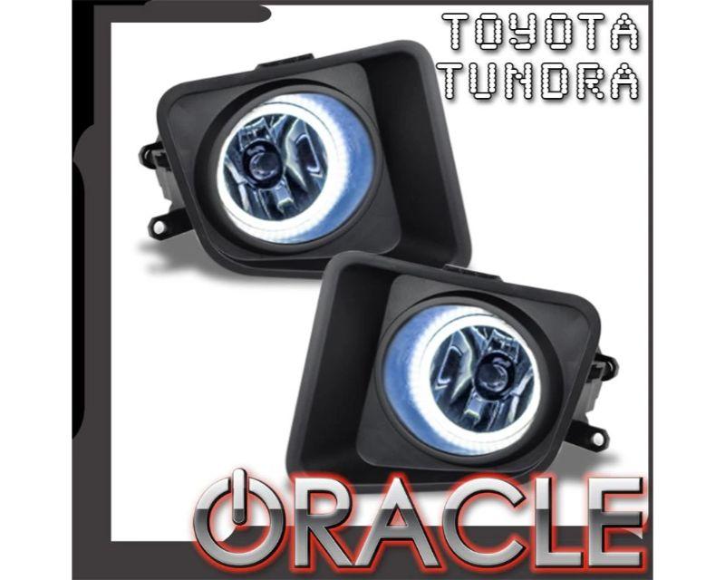 Oracle Lighting 8899-051 Pre-Assembled Fog Lights PLASMA Halo Kit White Toyota Tundra 2014-2018