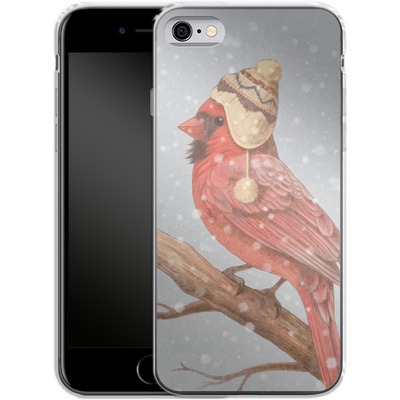 Apple iPhone 6s Silikon Handyhuelle - First Snow von Terry Fan