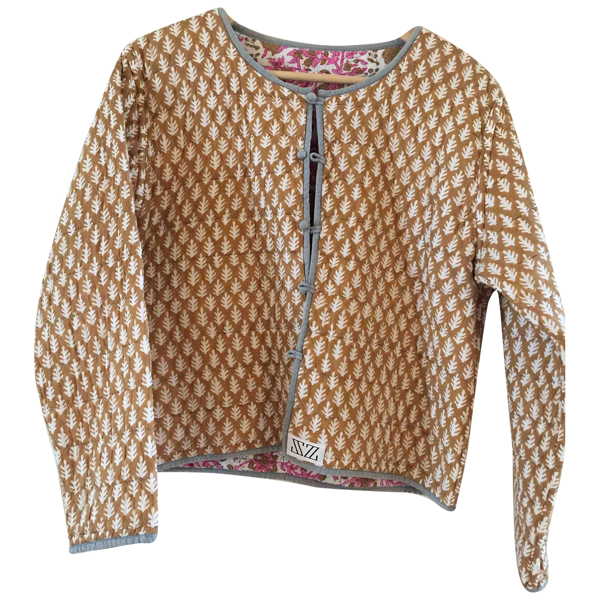 Autre Marque N Brown Cotton jacket for Women M International