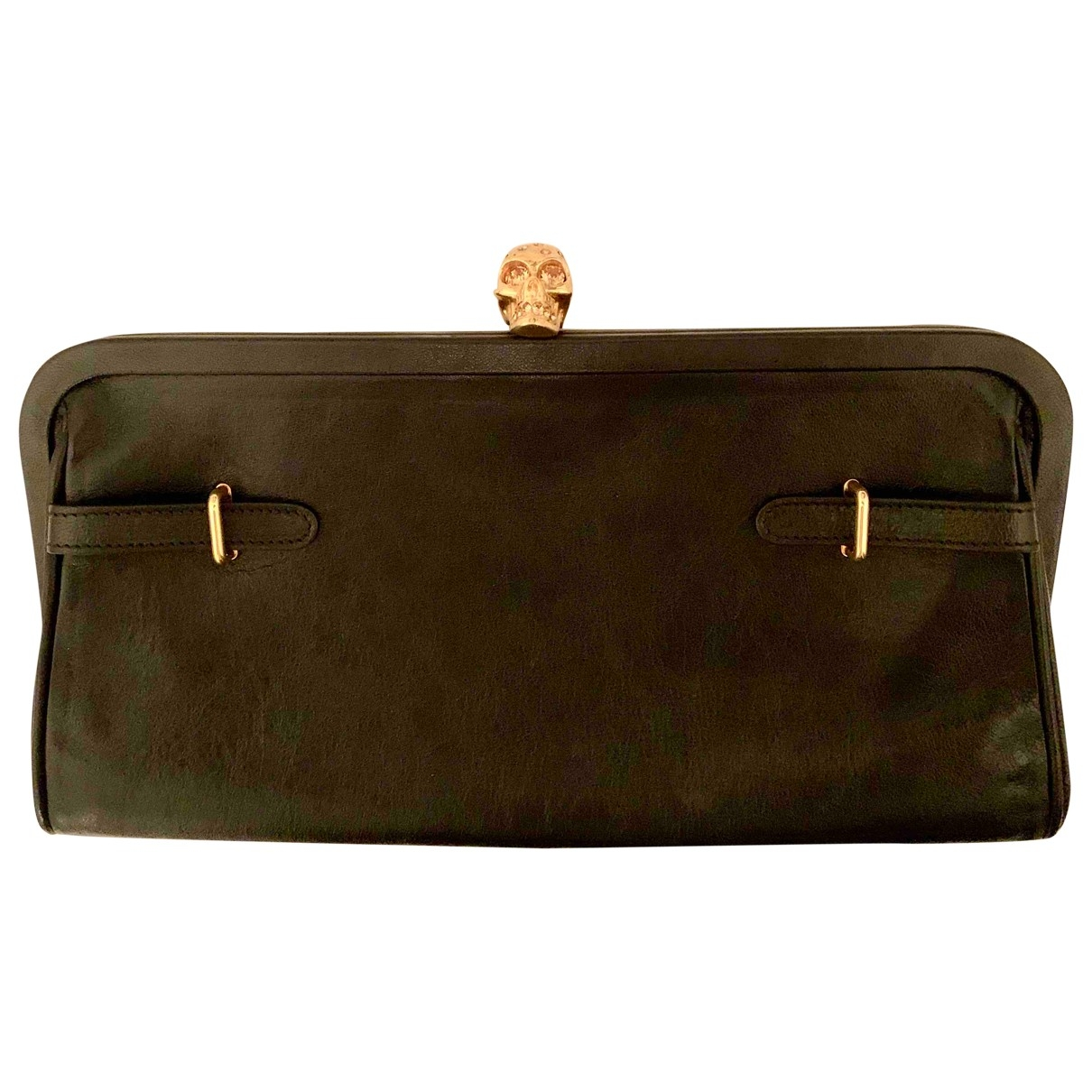 Alexander Mcqueen Skull Leather Clutch bag for Women \N
