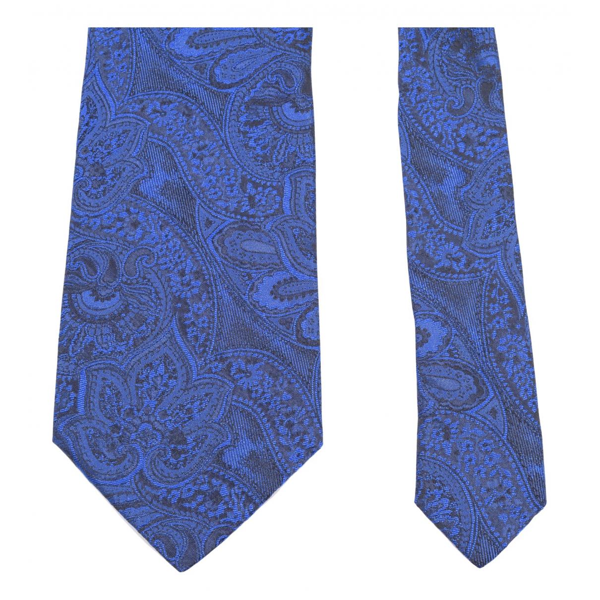 Dolce & Gabbana N Blue Silk Ties for Men N