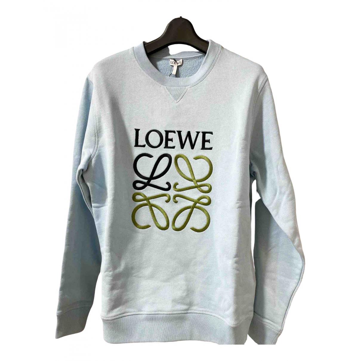 Loewe \N Blue Cotton Knitwear & Sweatshirts for Men S International