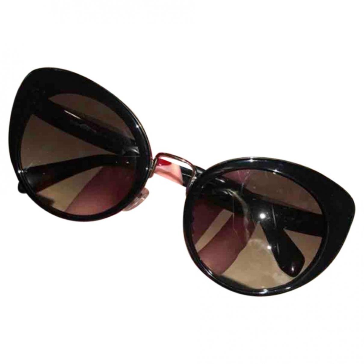 Miu Miu \N Black Sunglasses for Women \N