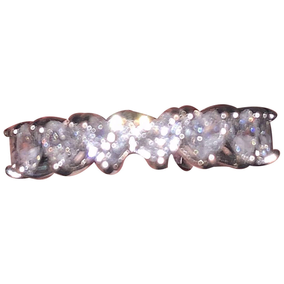Non Signé / Unsigned \N Silver Silver Plated ring for Women 54 MM