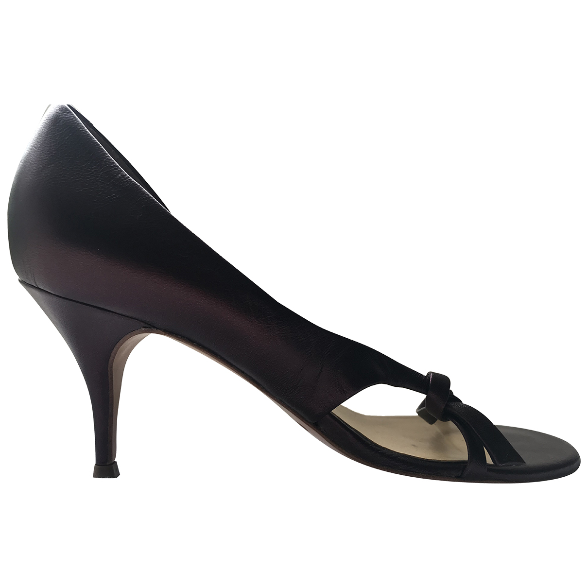 Chloé \N Leather Sandals for Women 36 EU