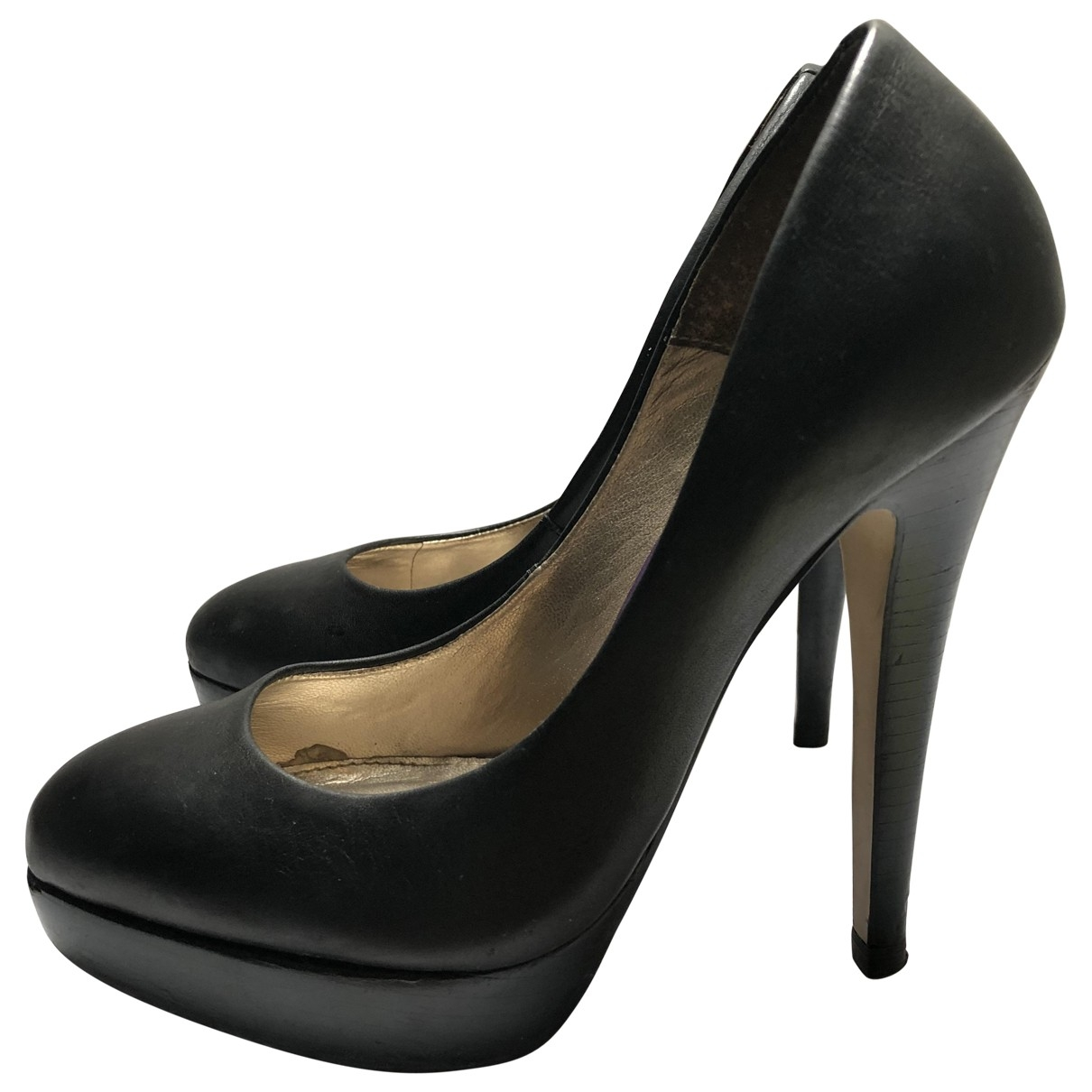 French Connection \N Black Leather Heels for Women 39 EU
