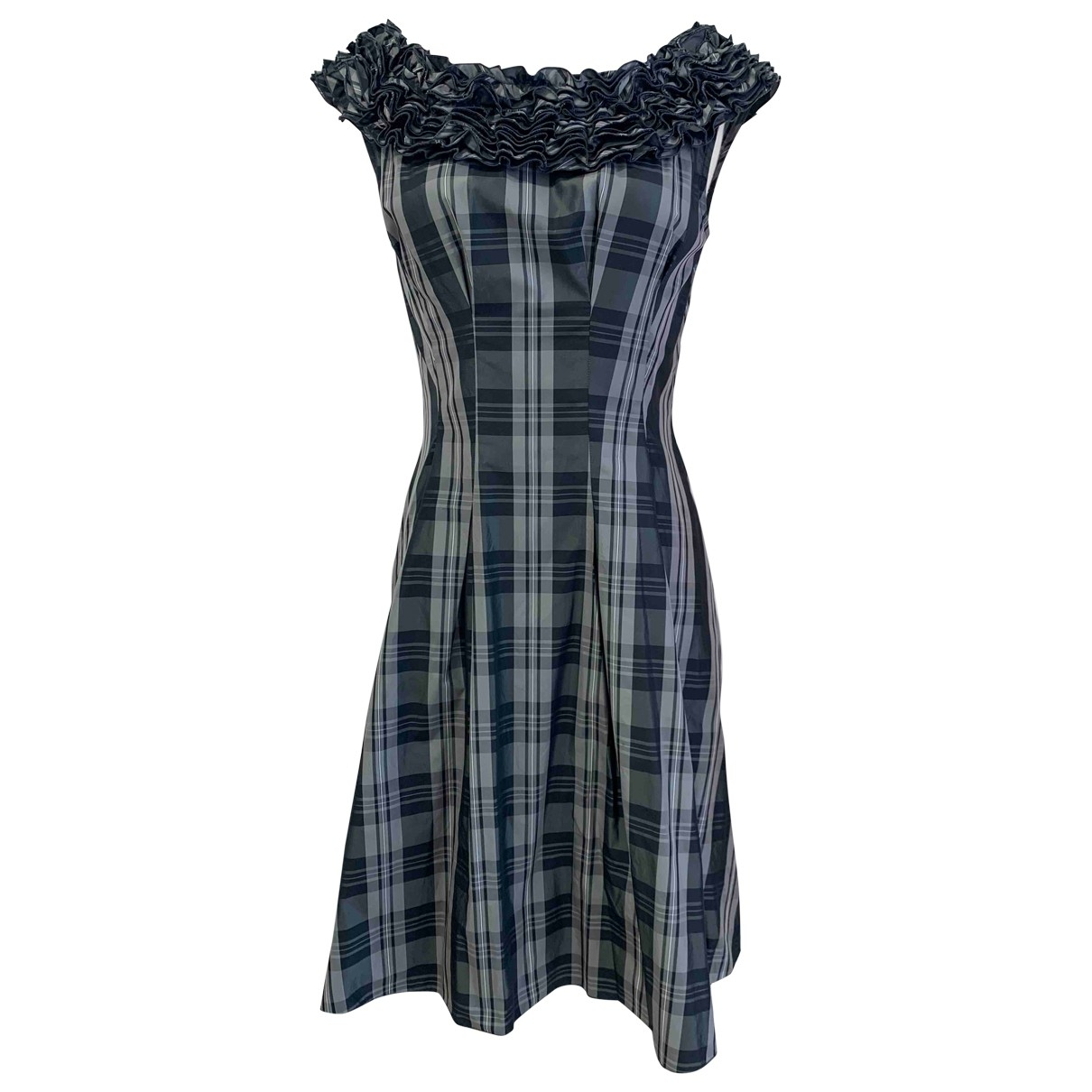 Moschino Cheap And Chic \N Kleid in  Grau Polyester