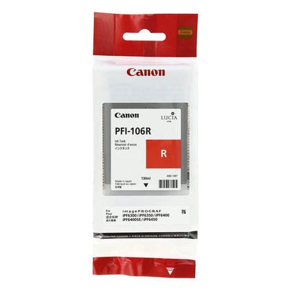 Canon PFI-106R 6627B001AA Original Red Ink Cartridge