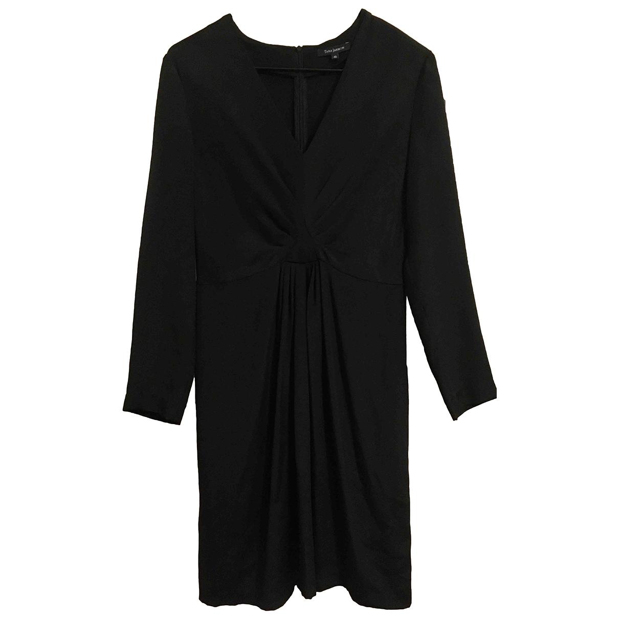 Tara Jarmon - Robe   pour femme en soie - noir
