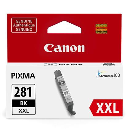 Canon PIXMA TS8100 noire cartouche encre originale, rendement tres haut